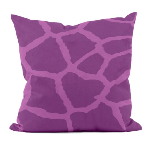 E By Design Animal Print Decorative Pillow
