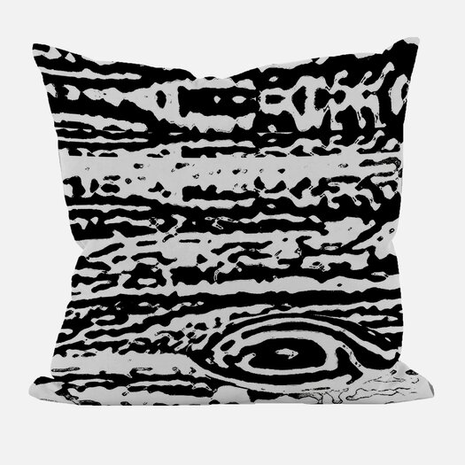 E By Design Abstract Decorative Throw Pillow II