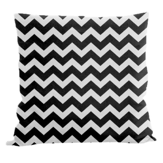 E By Design Chevron Decorative Throw Pillow