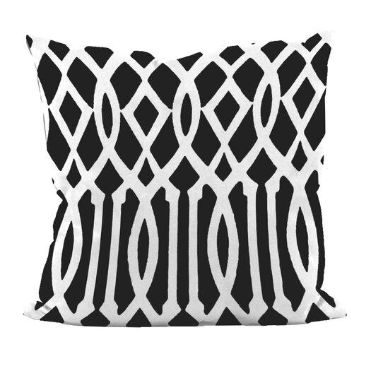 E By Design Trellis Decorative Pillow