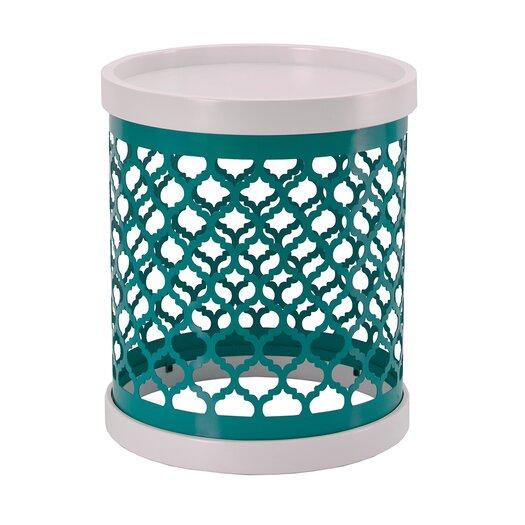 Intelligent Design Cirque Quatrefoil End Table