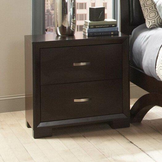 Woodbridge Home Designs 1313 Series 2 Drawer Nightstand