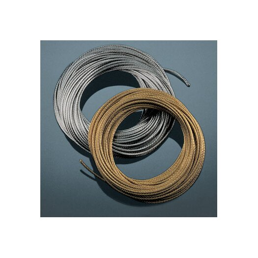 Bruck Lighting High Line Copper Cable in Tin Plated