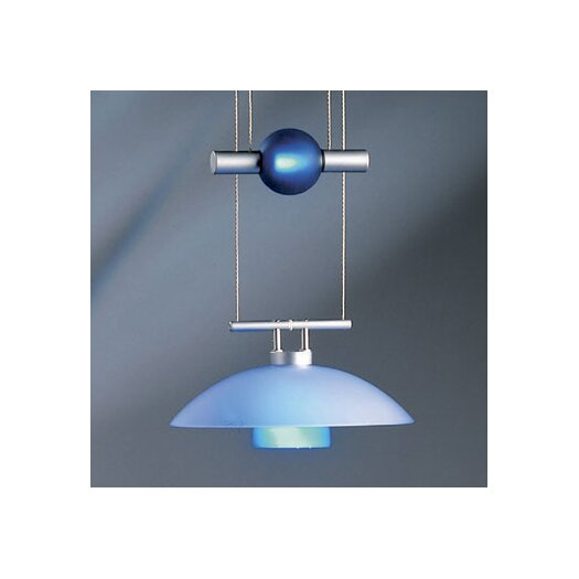 Bruck Lighting Jasmine 1 Light Move Down Large Pendant