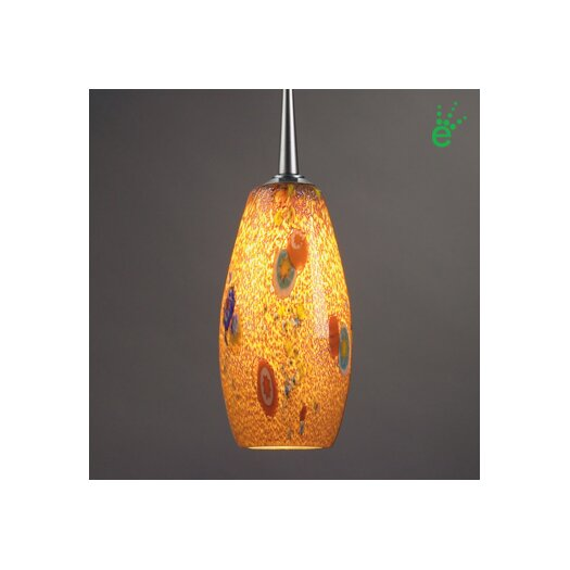 Bruck Lighting Mini Ciro 1 Light Monopoint Pendant with Canopy