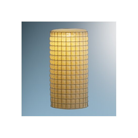 "Bruck Lighting 3.5"" Sierra Glass Cylinder Pendant Shade"