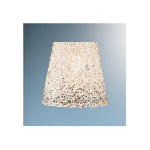"""Bruck Lighting 4.8"""" Bling Glass Lamp Shade"""
