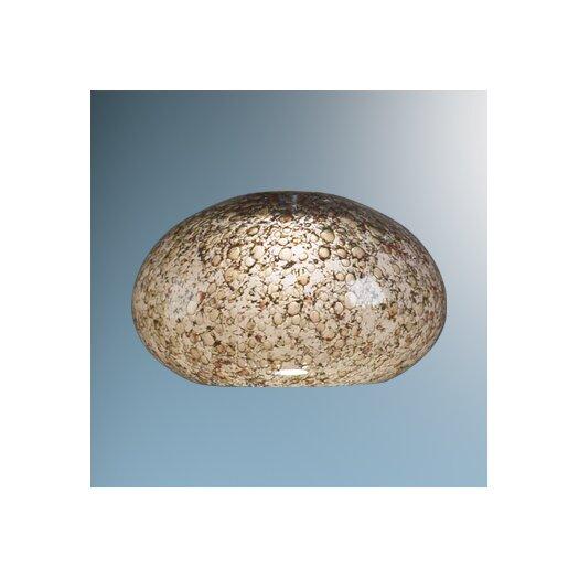 "Bruck Lighting 5.3"" Laguna Glass Round Ceiling Fan Bowl Shade"