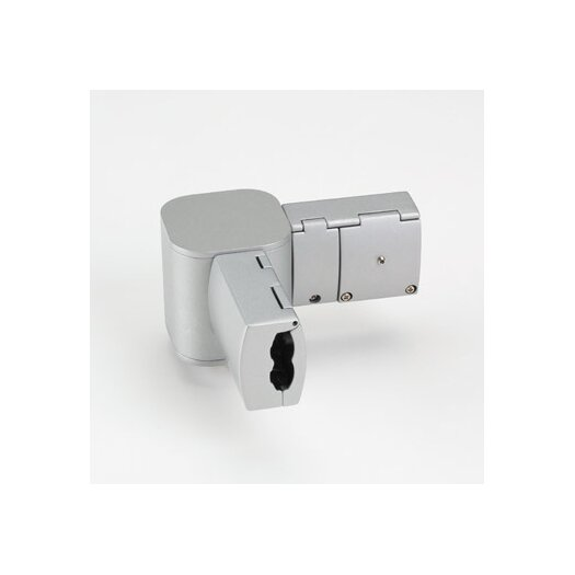 Bruck Lighting Zonyx 90 Degree Connector in Matte Chrome