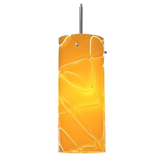 Bruck Lighting Luca 1 Light Monopoint Pendant with Canopy