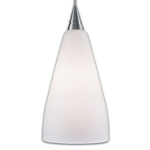 Bruck Lighting Zara 1 Light Monopoint Pendant with Canopy