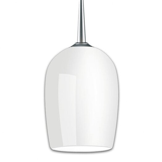 Bruck Lighting Queeny 1 Light Monopoint Down Pendant