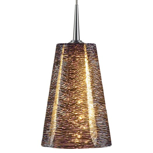 Bruck Lighting Bling II 1 Light Monopoint Pendant with Canopy