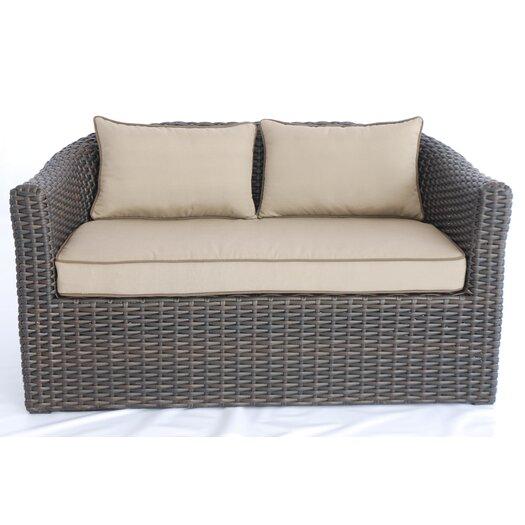 Creative Living Antigua 4 Piece Deep Seating Group with Cushions