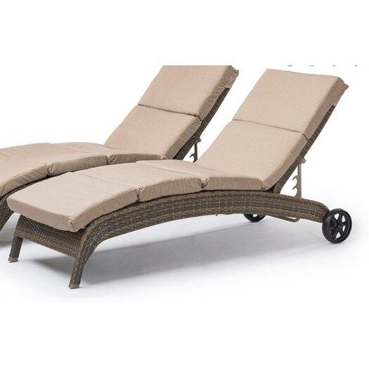 Creative Living Tahiti Chaise Lounge Set with Cushion
