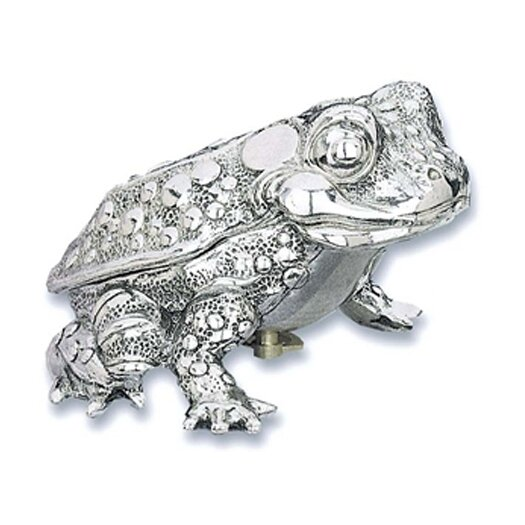 "Reed & Barton Children's Giftware 3.75"" Toad Music Box"
