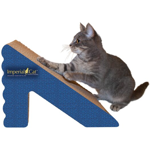 Imperial Cat Rub and Ramp Recycled Paper Scratching Post