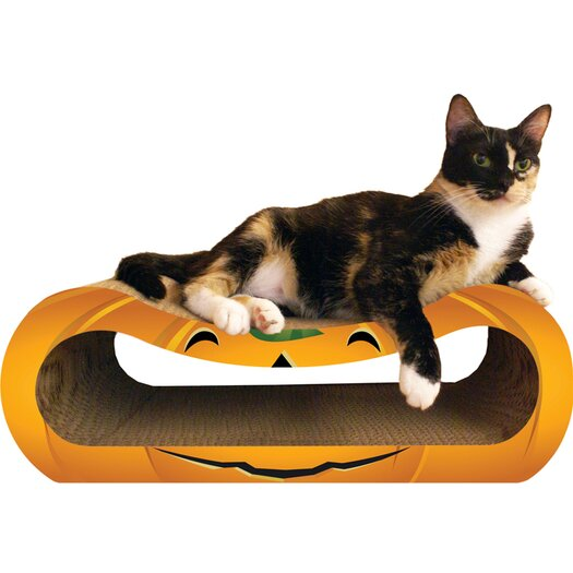 Imperial Cat Pumpkin Recycled Paper Scratching Post