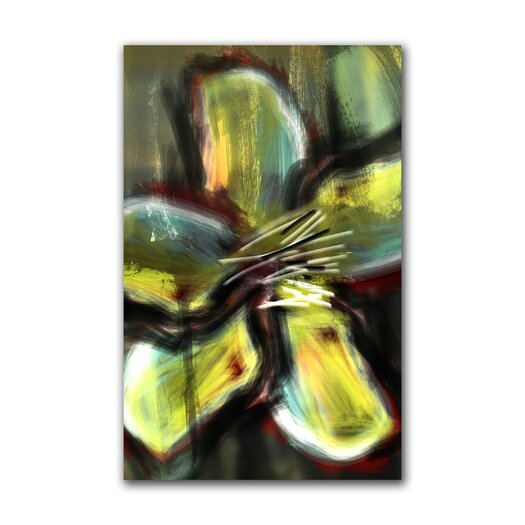 """Th-Ink Art """"Verdant Vision"""" Gallery Wrapped Canvas Artwork"""