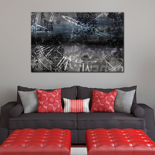 "Th-Ink Art ""Chronograph"" Graphic Art on Canvas"