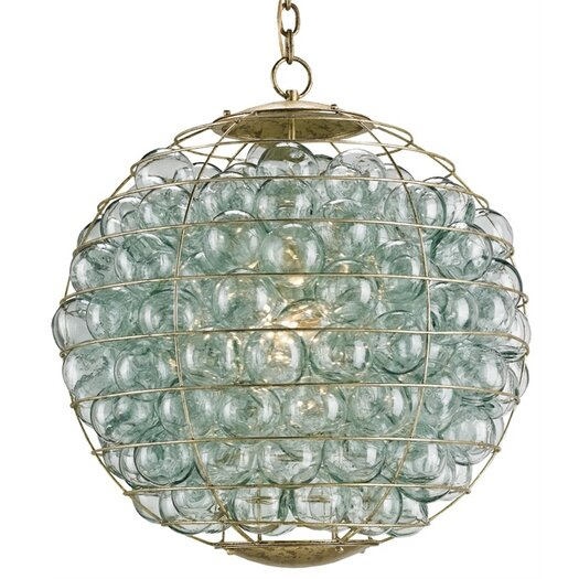 Currey & Company Pastiche 1 Light Mini Chandelier