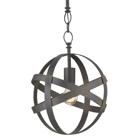 Currey & Company Dundee 1 Light Foyer Pendant