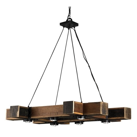 Currey & Company Dockyard 6 Light Chandelier