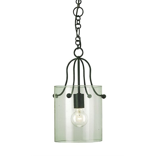 Currey & Company Hudson 1 Light Mini Pendant