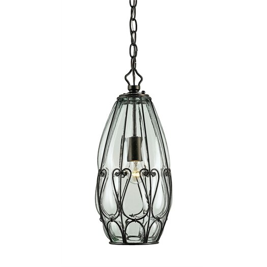 Currey & Company Legion 1 Light Foyer Pendant