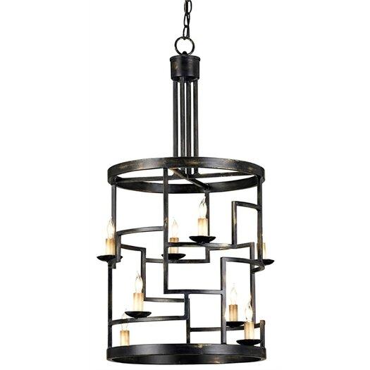 Currey & Company Spyro 8 Light Lantern