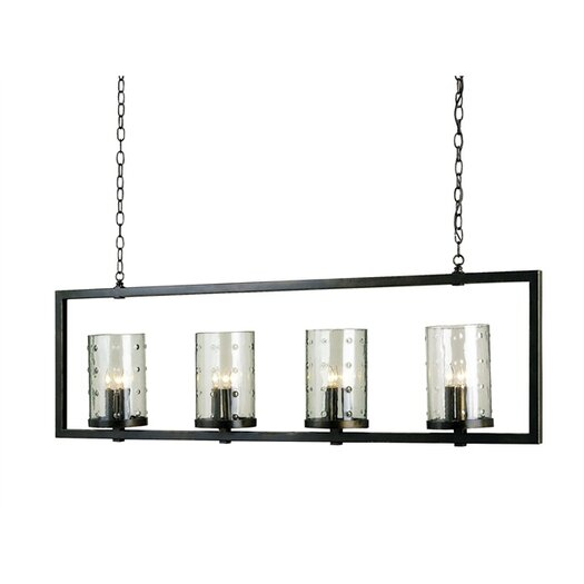 Currey & Company Longhope 4 Light Chandelier
