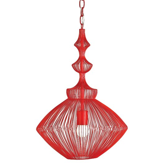 Currey & Company Parker 1 Light Foyer Pendant