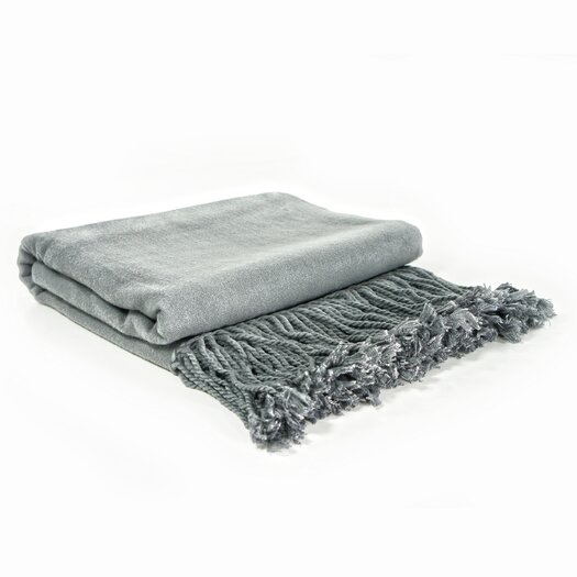 Pur Modern Neutra Bamboo Velvet Throw