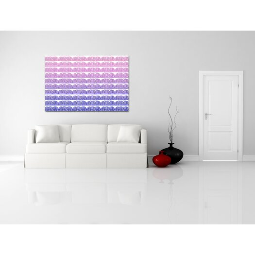 Crush Collective '100 Large White' Textual Art on Canvas