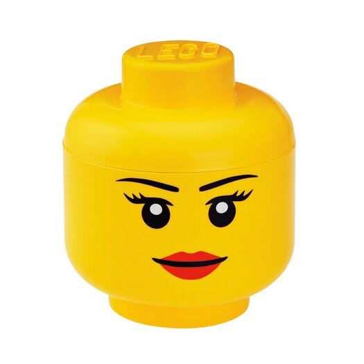 LEGO by Room Copenhagen Girl's Storage Head Toy Box