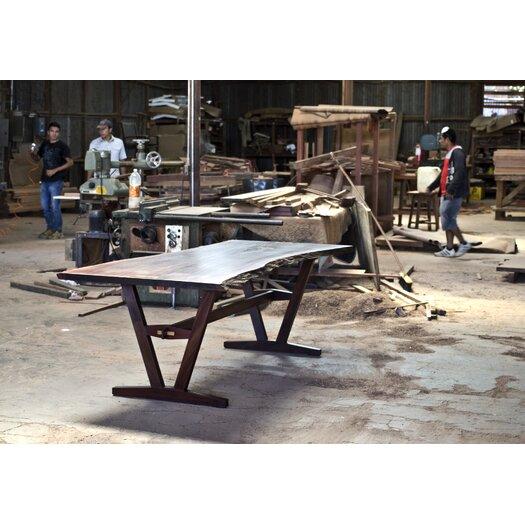 Aaron Poritz Furniture Slab Dining Table
