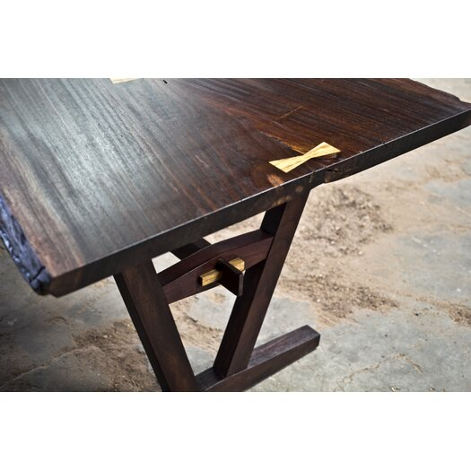 Aaron Poritz Furniture Slab Dining Table