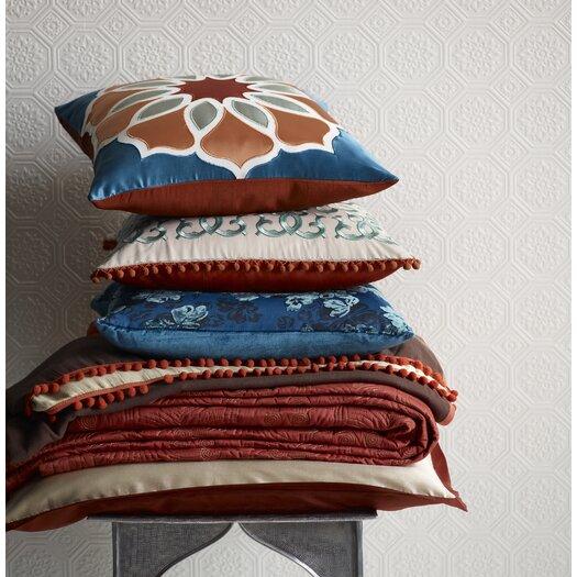 Blissliving Home Abu Dhabi Leena Silk / Linen Pillow