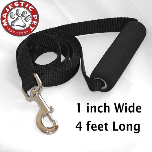 Majestic Pet Products Easy Grip Handle Dog Leash