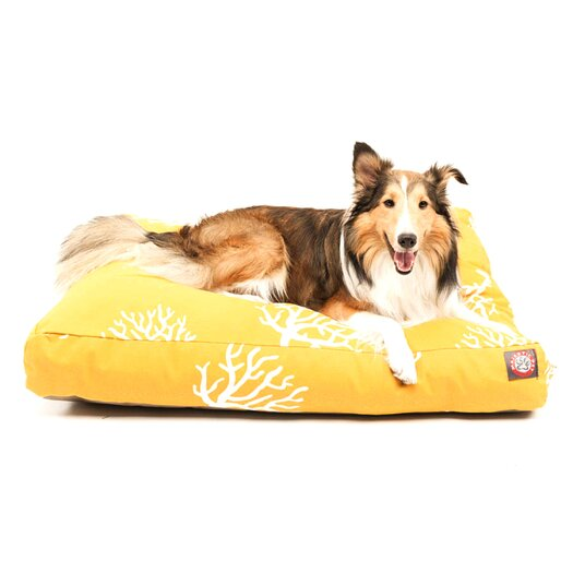 Majestic Pet Products Coral Rectangle Pet Bed