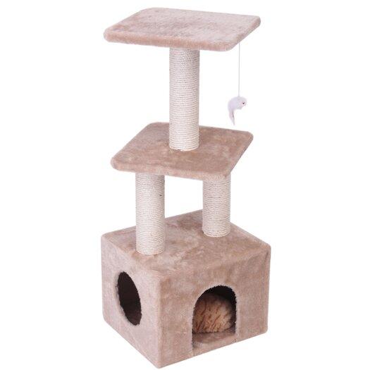 "Majestic Pet Products 40"" Casita Fur Cat Tree"