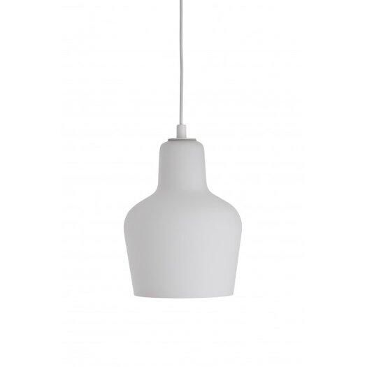 Artek Ceiling Bell Lamp A440 in Opal Glass