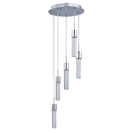 ET2 Fizz IV 5 Light Kitchen Island Pendant