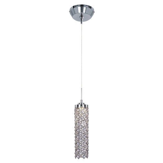 ET2 Shanell 1-Light LED RapidJack Pendant and Canopy