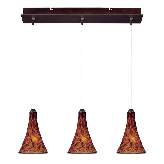 ET2 Leopard 3-Light RapidJack Pendant and Canopy