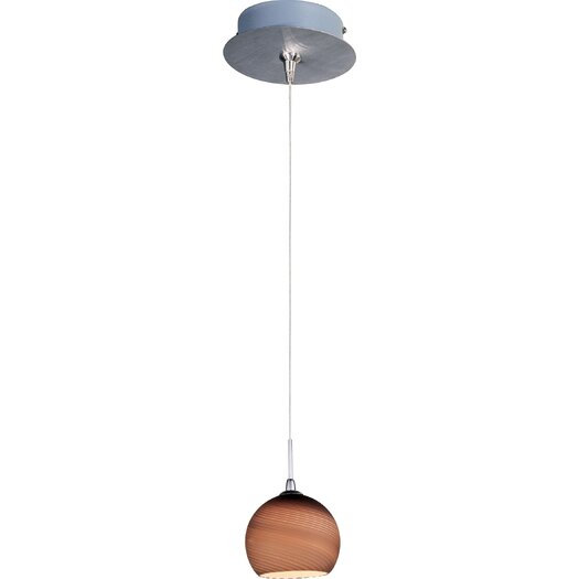 ET2 Chocolate Mousse 1-Lt RapidJack Pendant and Canopy