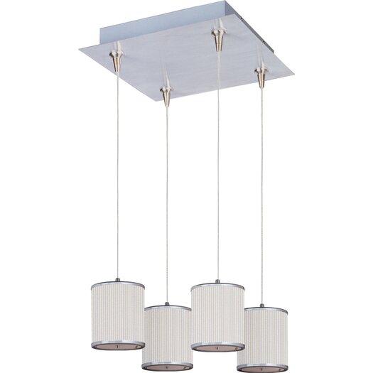 ET2 Elements 4-Light RapidJack Pendant and Canopy