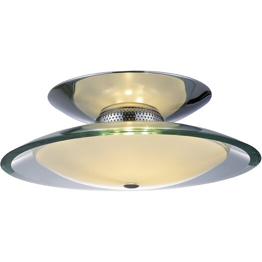 ET2 Curva 3-Light Flush Mount