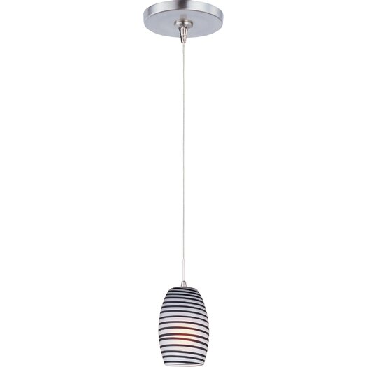 ET2 Chocolate Swirl 1-Lt RapidJack Pendant and Canopy