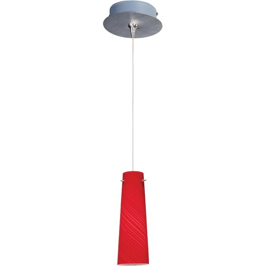 ET2 Sprial 1-Light RapidJack Pendant and Canopy